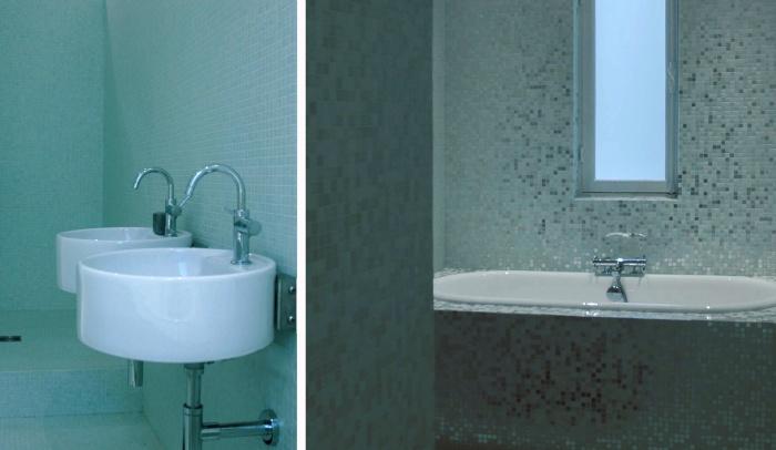 Résidence privée à Paris XIV : Salle de bains