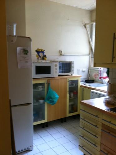 Rénovation et aménagement d'un appartement Wagram : Cuisine avant
