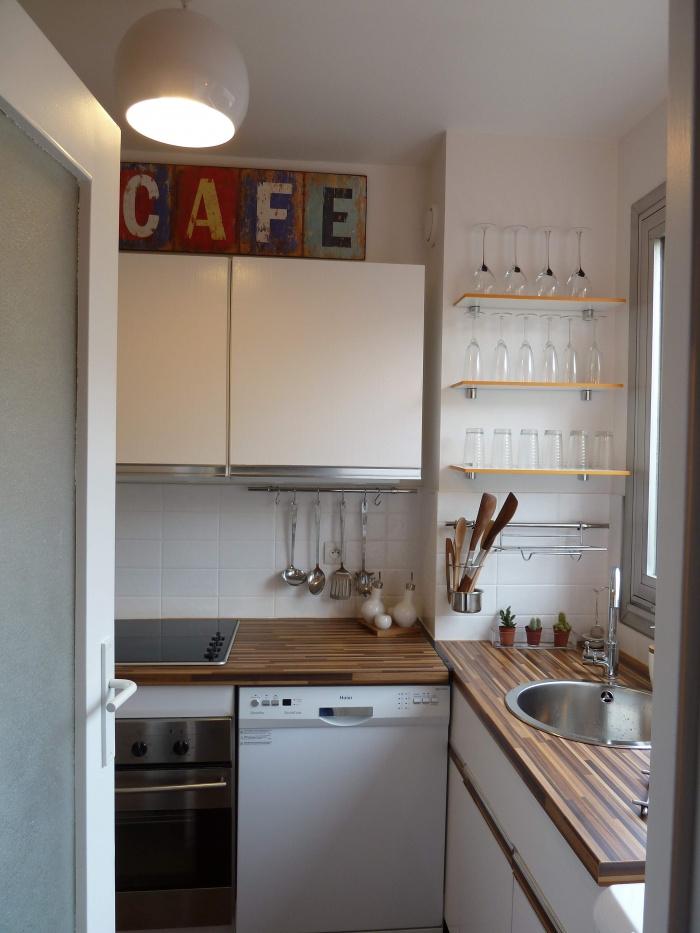 Rénovation et décoration d'un studio Cardinet