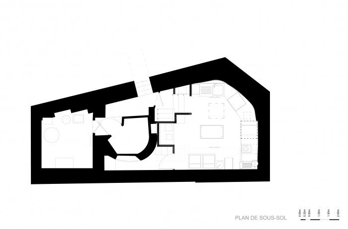 Restaurant le : Plan sous-sol