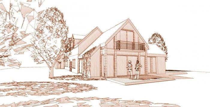 Extension Bois d'une maison traditionnelle : 2