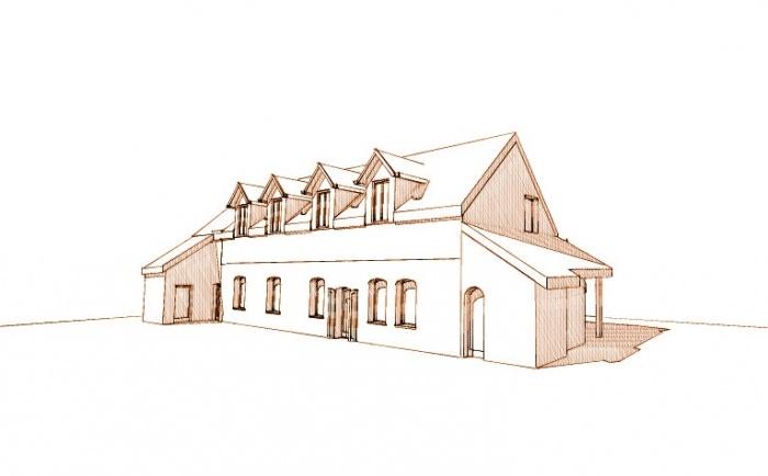 Extension Bois d'une maison traditionnelle : 3
