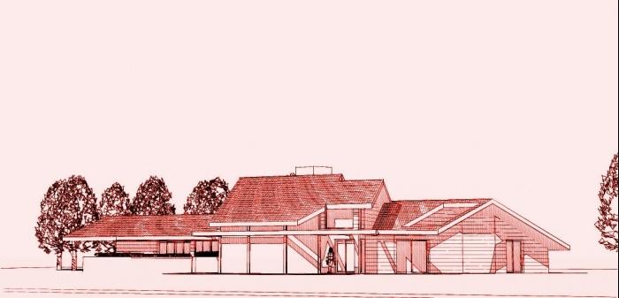 Maison BBC en cours de réalisation dans la Nièvre : architecte maison bois 5
