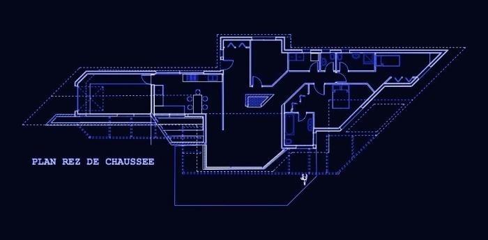 Maison BBC en cours de réalisation dans la Nièvre : Maison architecte Bois Nevers