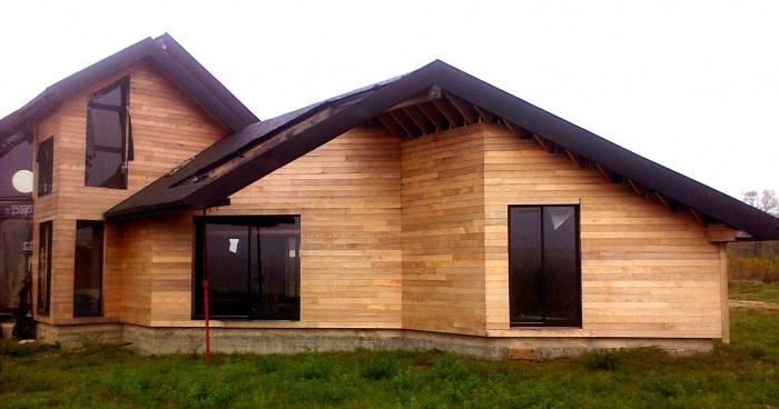 Maison BBC en cours de réalisation dans la Nièvre : architecte maison bois