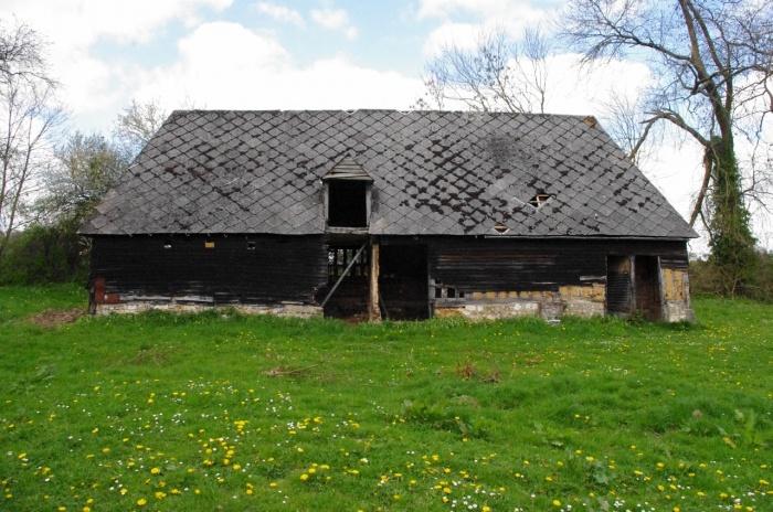 Transformation d'un batiment agricole en habitation