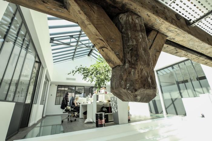 Aménagent du nouveau siège social d'une agence de Design Global : verrière commerciaux 2