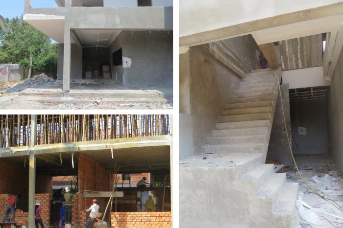 Construction d'une école avec atelier de pâtisserie à Angkor (Cambodge) : 04