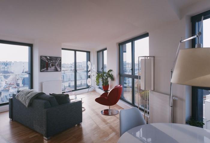 40 lgt Paris - Batiment Habitation LAN architecture