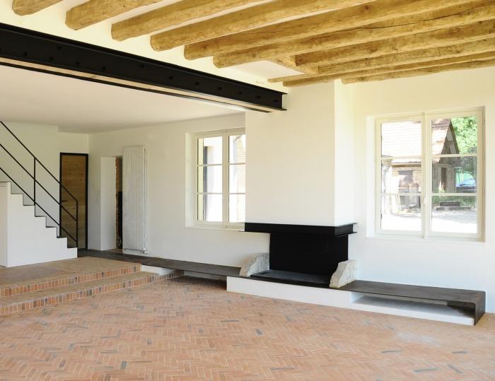Réhabilitation d'une résidence secondaire : Renovation Maison Sologne M2 - 4