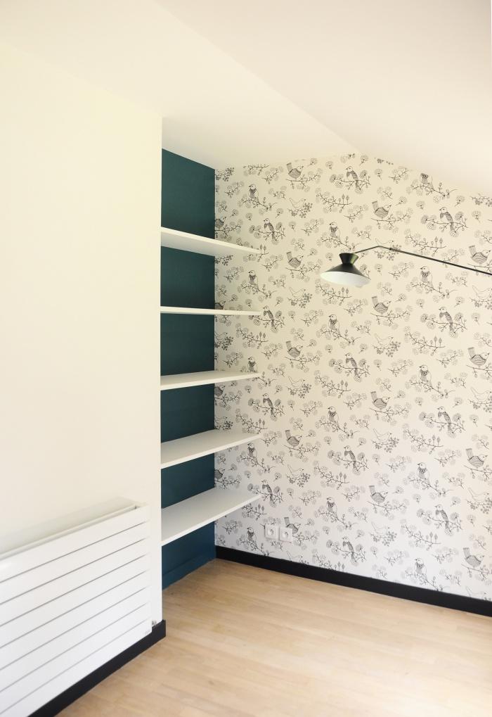Réhabilitation d'une résidence secondaire : Renovation Maison Sologne M2 - 14