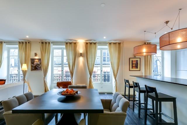 Restructuration totale d'un appartement rue Miromesnil Paris 8 : miro9