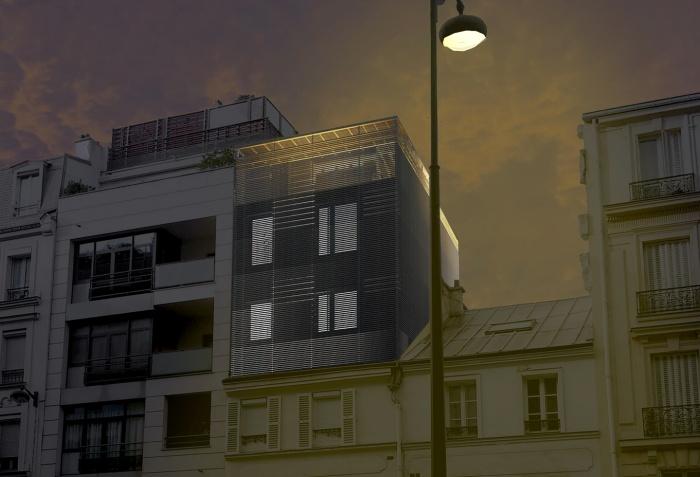 E 17 - Une Surélévation Parisienne : image_projet_mini_85933