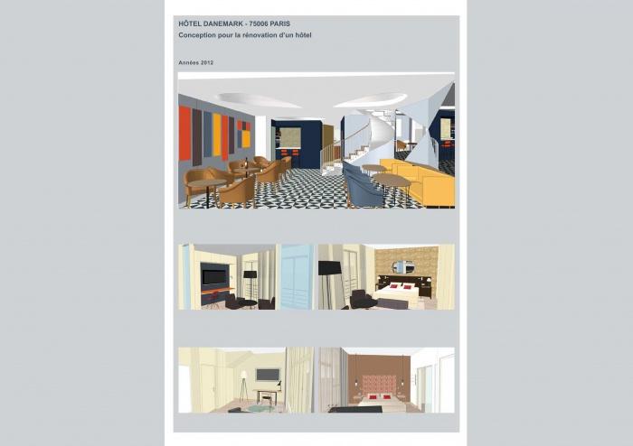 Hôtel Danemark 75006