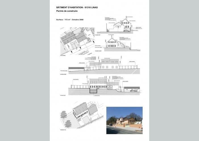 PERMIS DE CONSTRUIRE - BÂTIMENT D'HABITATION