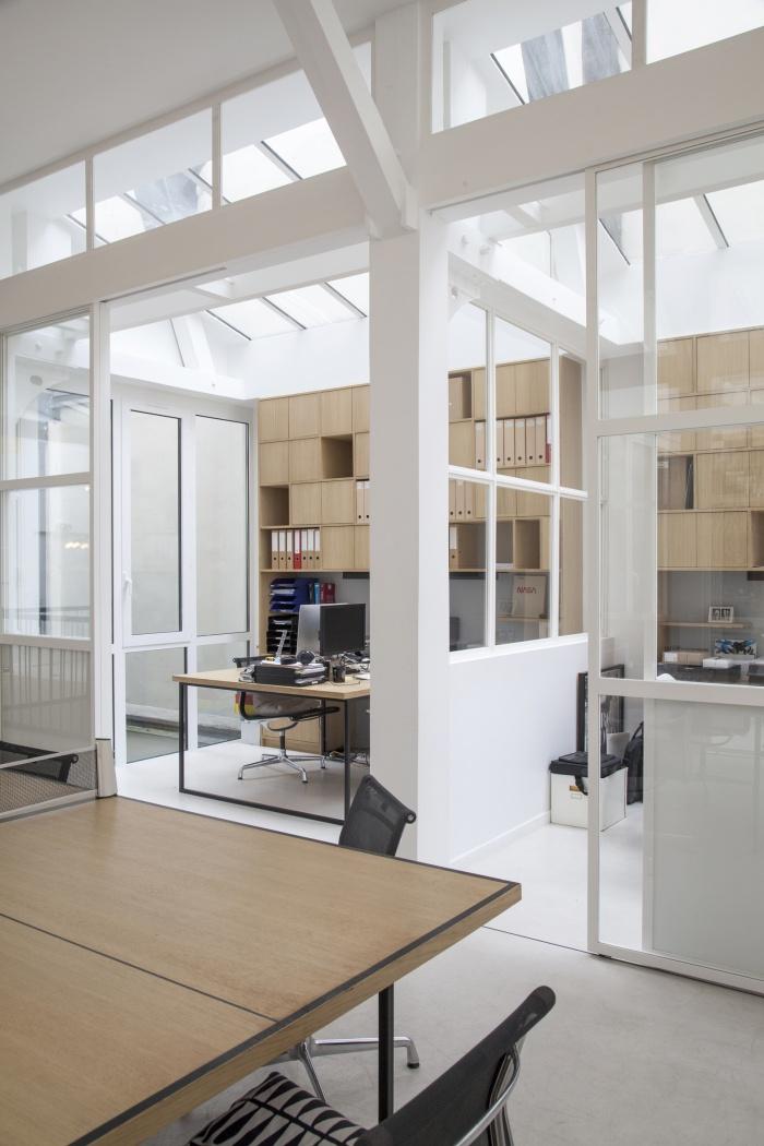 Rénovation de bureaux et création d'un studio de post-production : CRM BBD 4