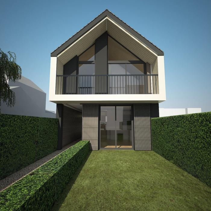 Constrution de deux maisons