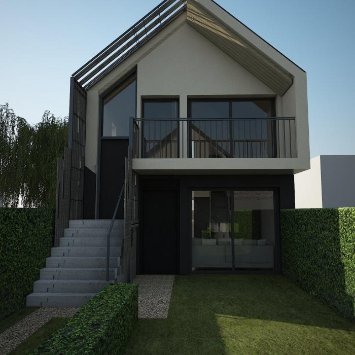 Constrution de deux maisons : sc16