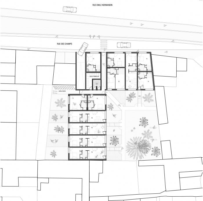 logements - : TAS-plan